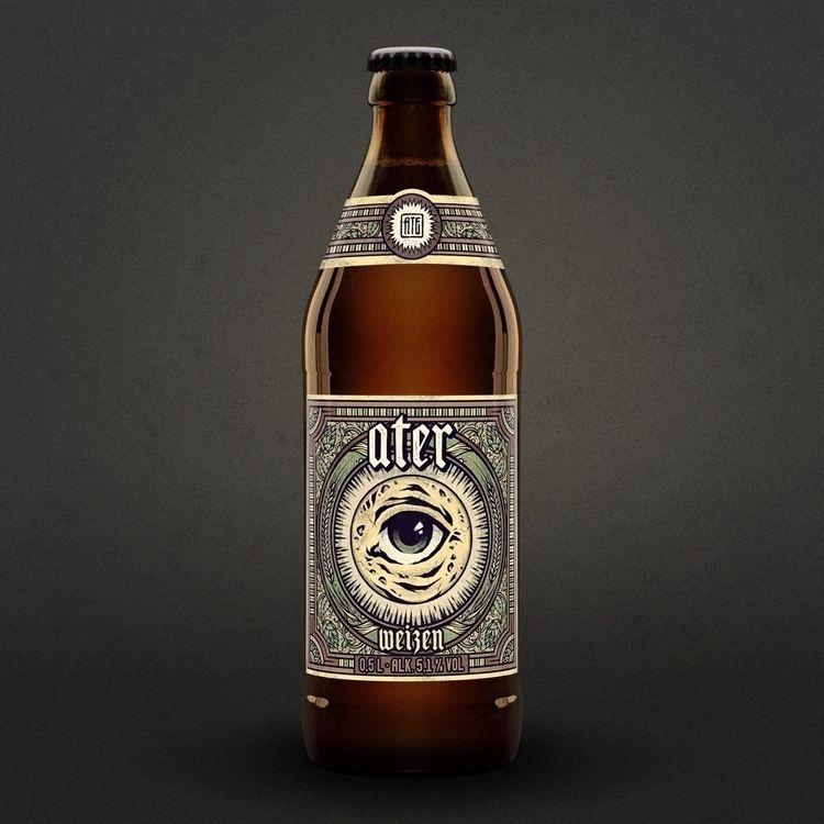 beerlabel design - ate, atecrew - sidas_ate | ello