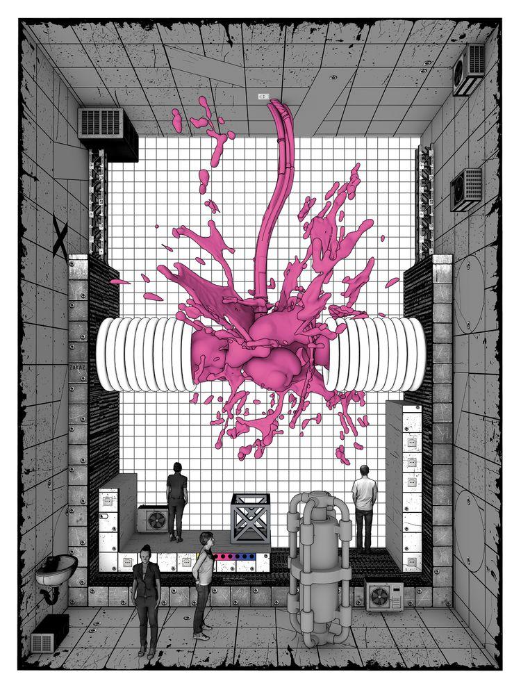 dystopic illustration 12th DIVI - victorsoma | ello