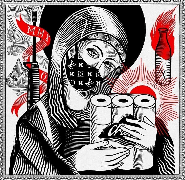 Holy Madonna del Charmin guns.  - tomo77 | ello