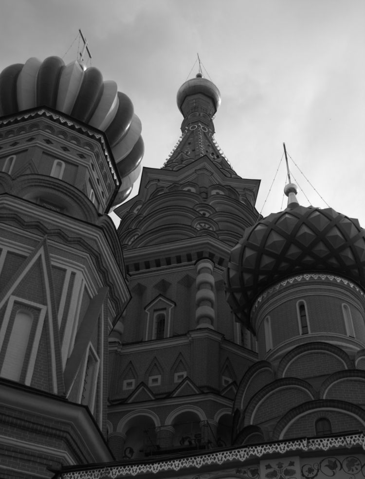 Moscow, detail roofs st. Basils - fkopr | ello