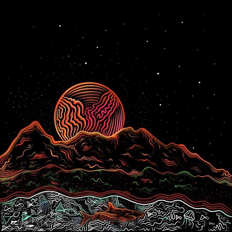 Illustration Stian album Though - brokoola   ello