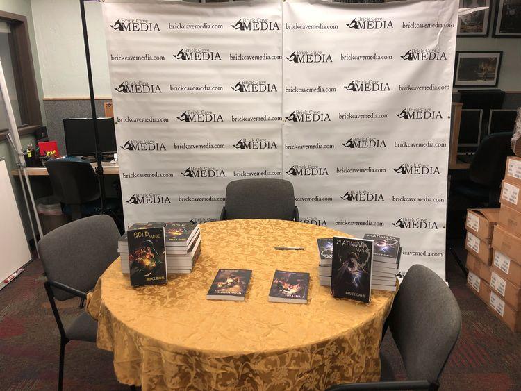 hosting virtual book signing Au - brickcavemedia | ello