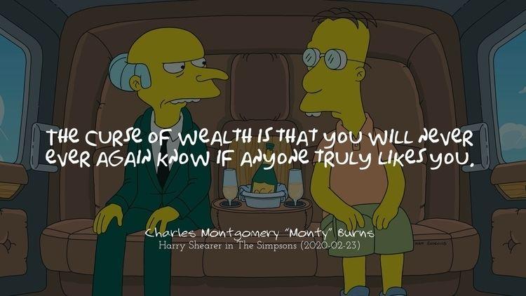 «La maldición de la riqueza es  - adwow | ello
