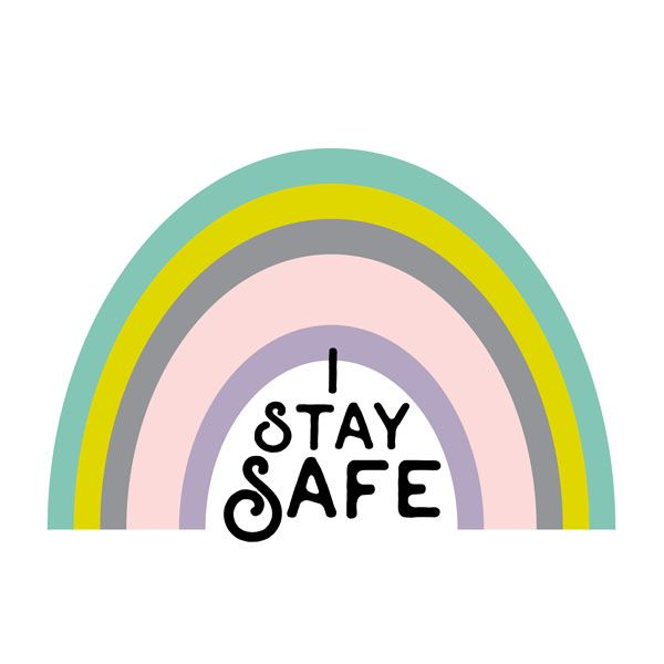 Stay home! safe - illustration, stayhome - pinknounou | ello
