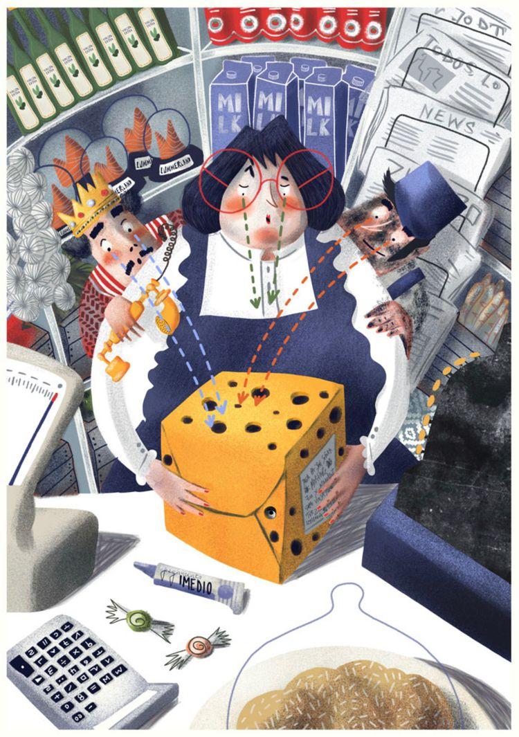 Children book illustration stor - carolinacancanilla | ello