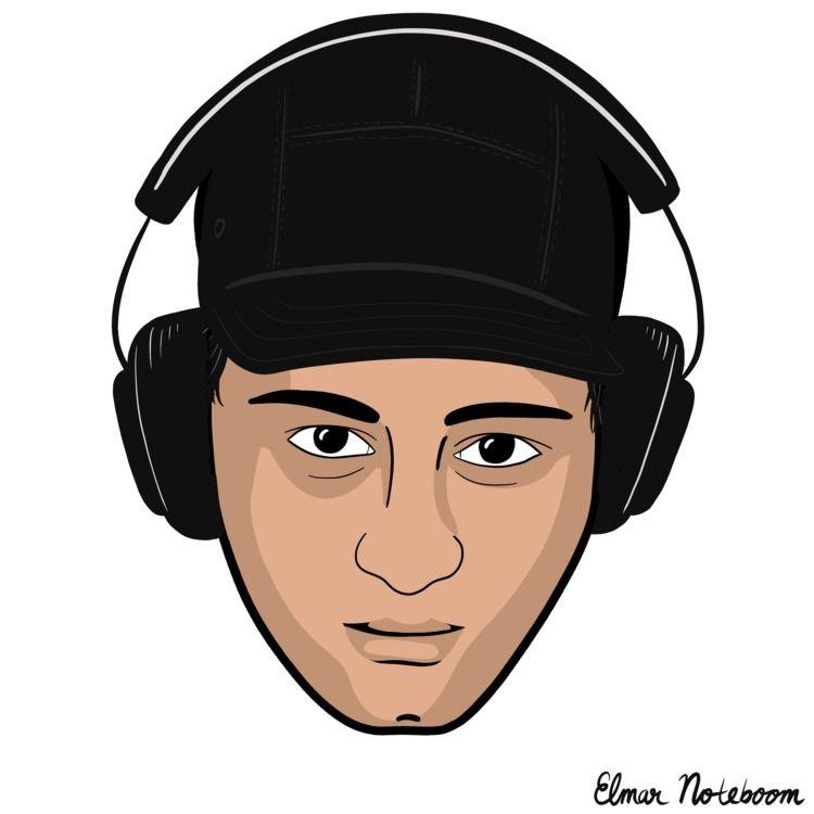 portrait 10 cap Today received  - elmarnoteboom | ello