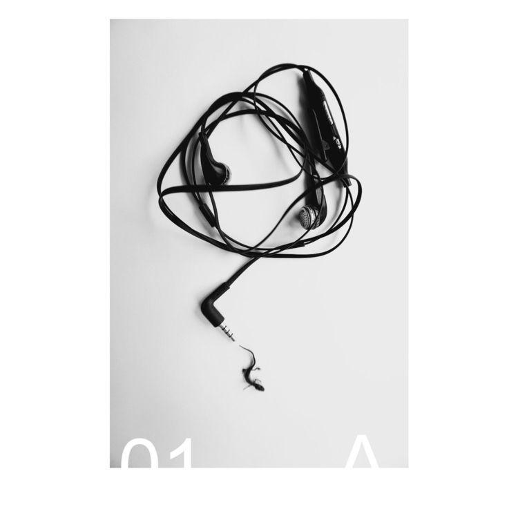 x2 Monochrome posters work 365  - olyavansaane | ello