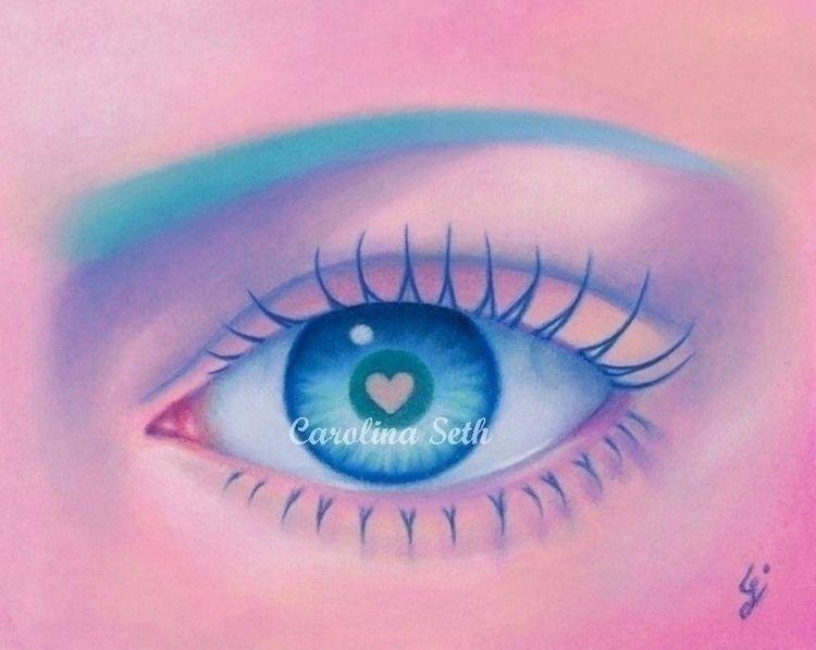 Strange kind Love small Eye pai - carolinaseth   ello