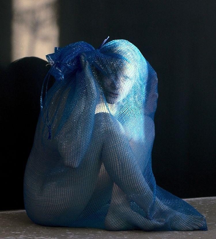 Trash colours *blue 05317 fish  - frango_artist | ello