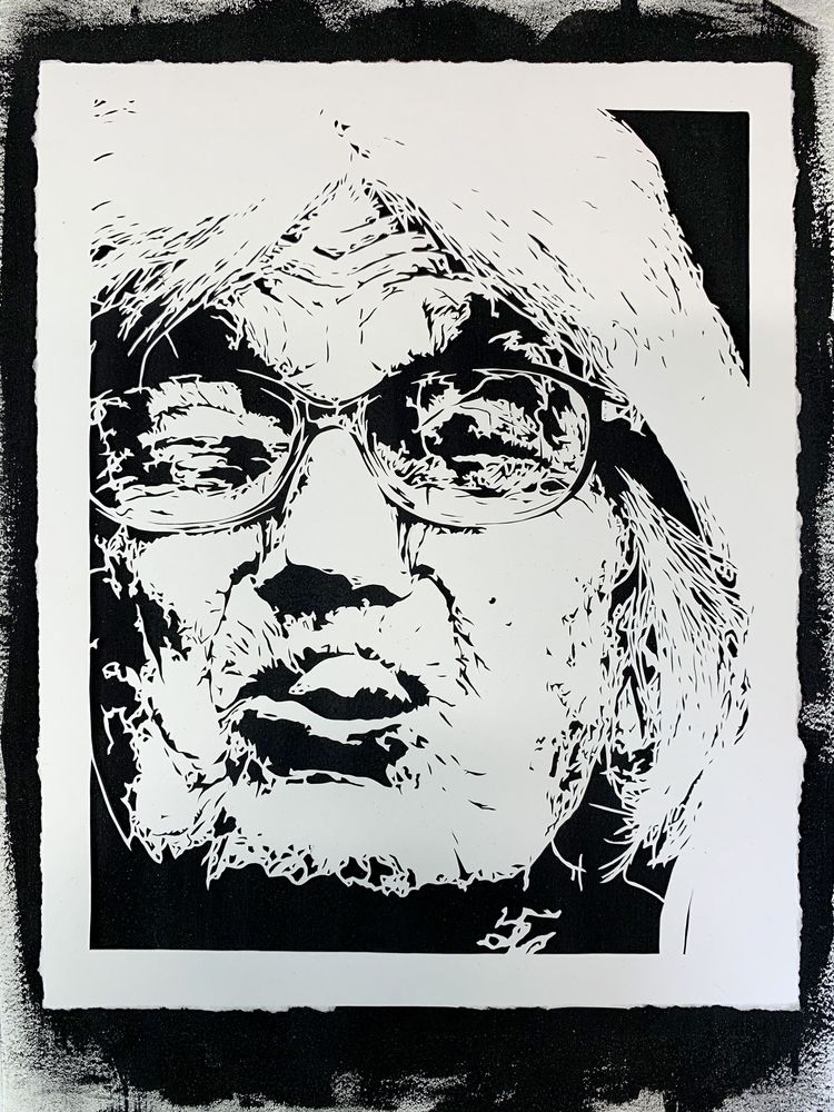 Hand-cut paper 9x12 - Untitled  - bjsmith | ello