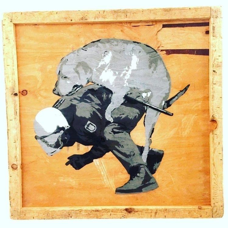 POOR DOG Marshal Arts Stencil,  - herrpfaff | ello