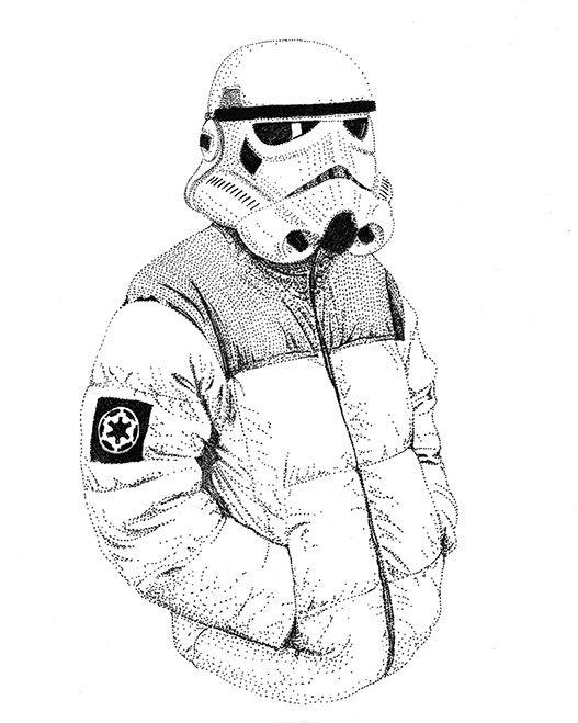 Trooper - starwars, illustration - herre84 | ello