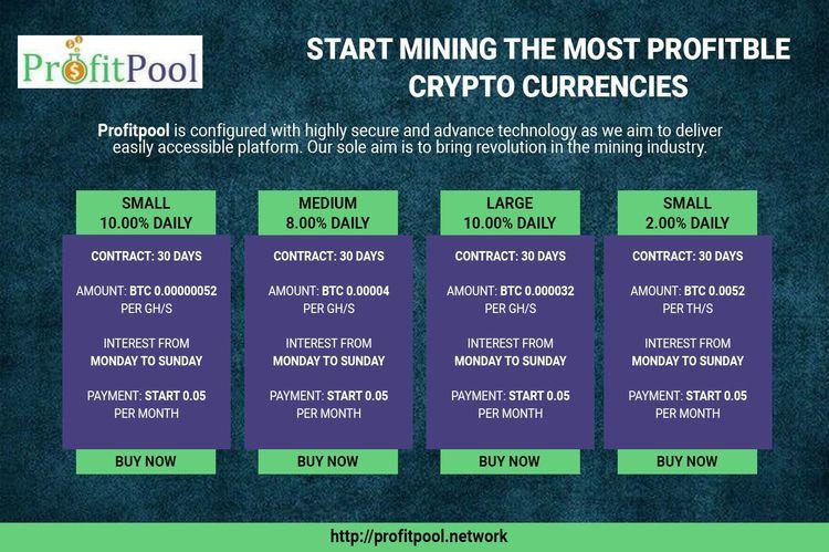 Start mining profitable stable  - profitpool | ello