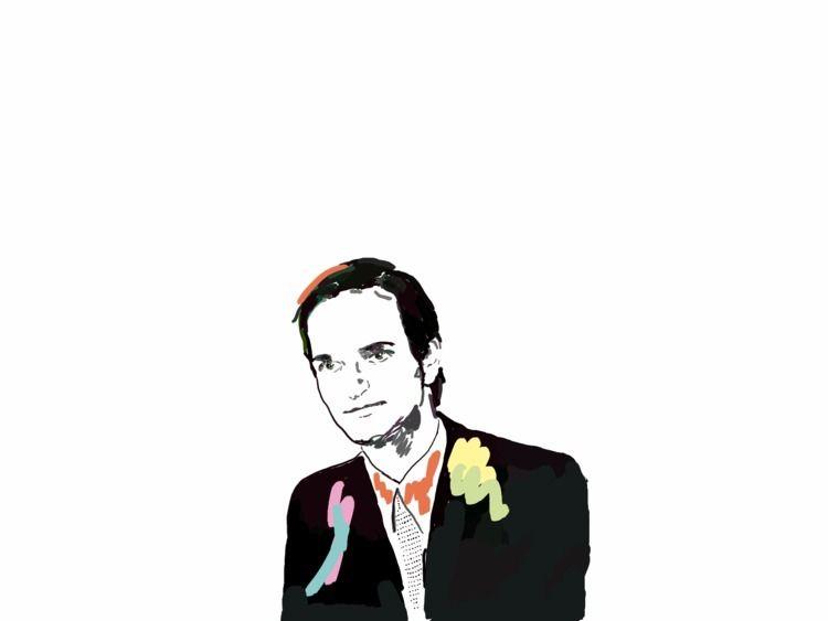 Florian Schneider 1947 - 2020 - florianschneider - dibujosfantasmas | ello