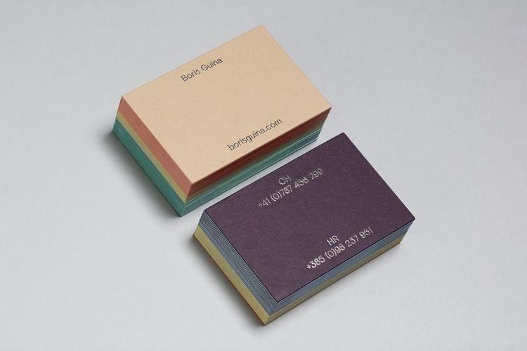 set business cards artist Boris - abcdkovac   ello