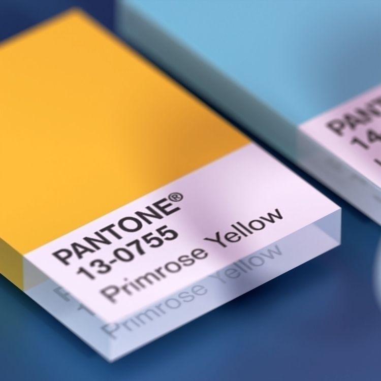 pantone, 3D, blender, motiondesign - adrienmoormann | ello