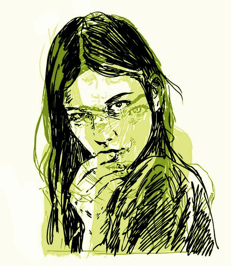 illustration, art, portrait - mark-andresen   ello