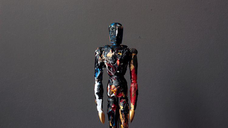 Passion, acrylic wooden puppet - gonzalogolpe | ello