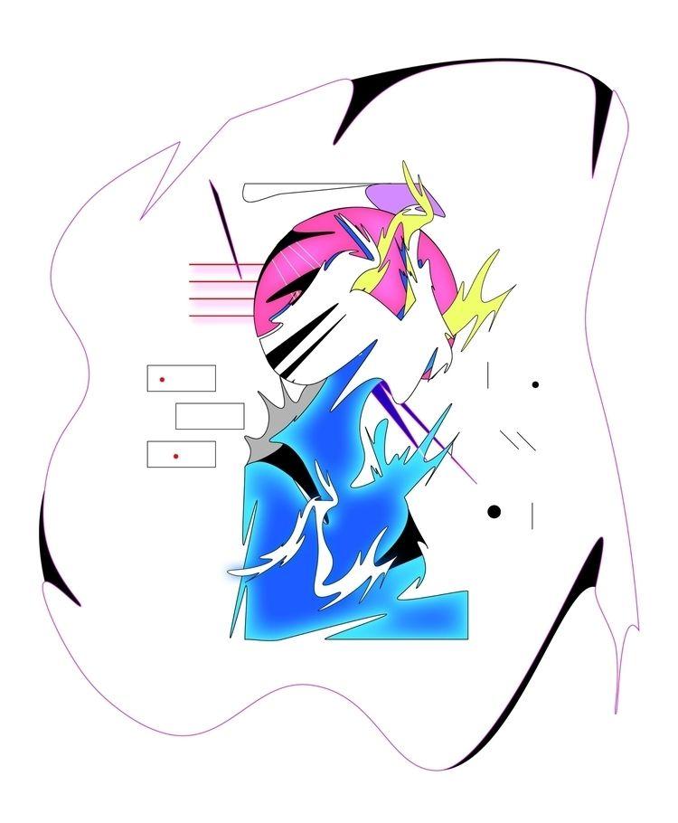 Liquid Light  - illustrator - escapescapes   ello