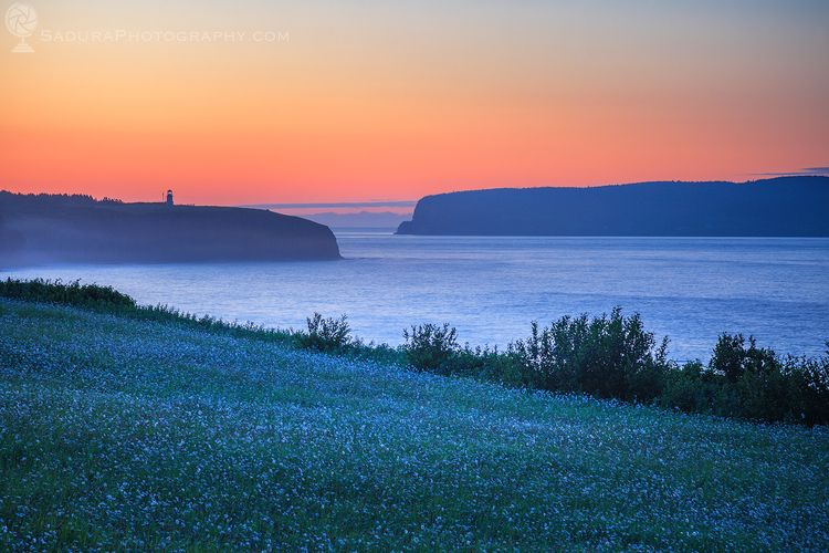 Cap Blanc Lighthouse sunrise Qu - hsphotos | ello