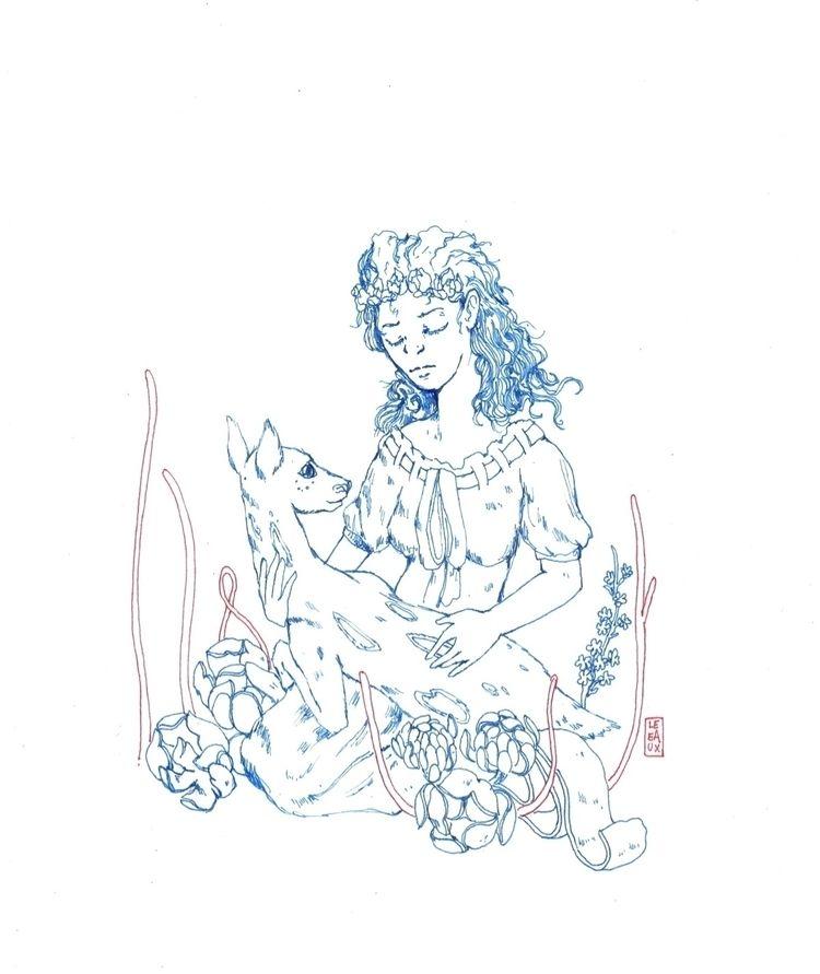 """mother"" • micron pen cardstock - leeaux | ello"