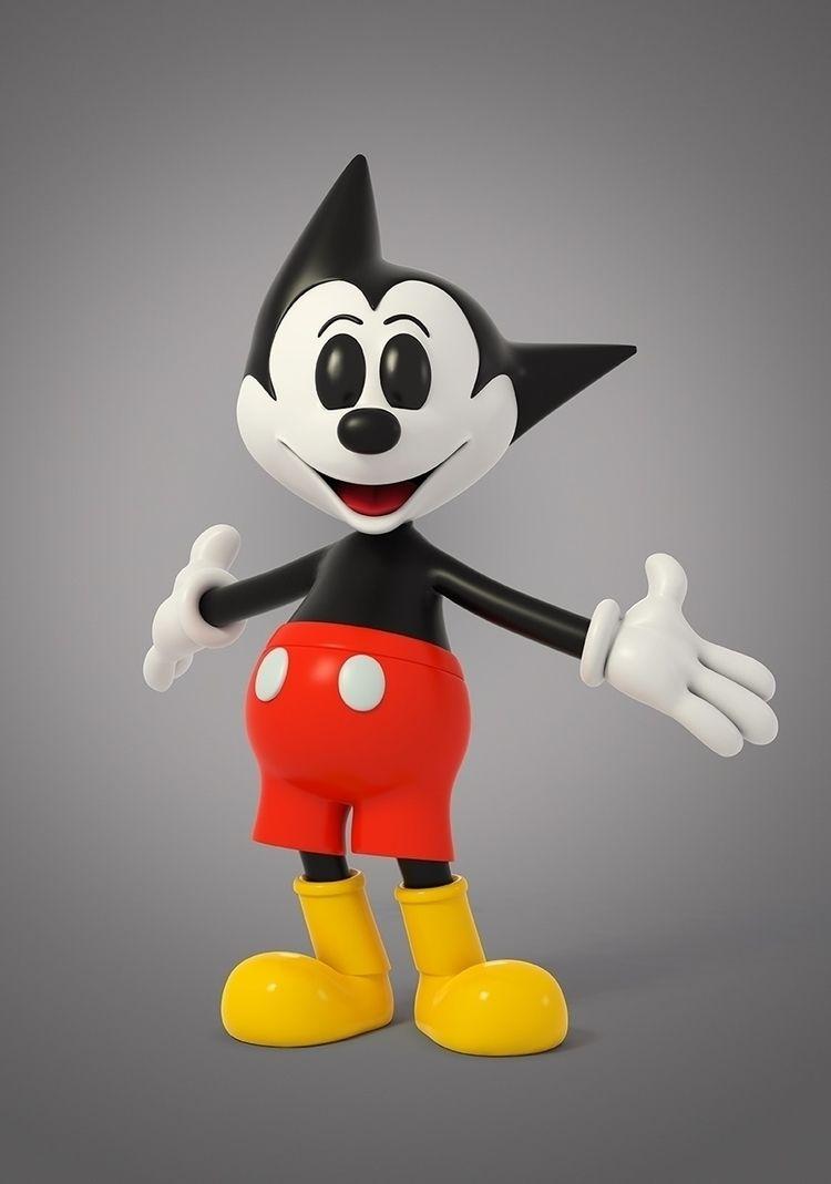 Astro Mouse - designertoys, toydesign - theodoru | ello