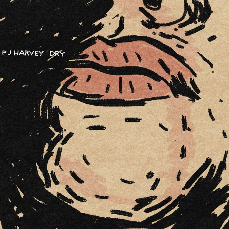 9/10 PJ Harvey, Dry challenged  - imaginarythinking | ello