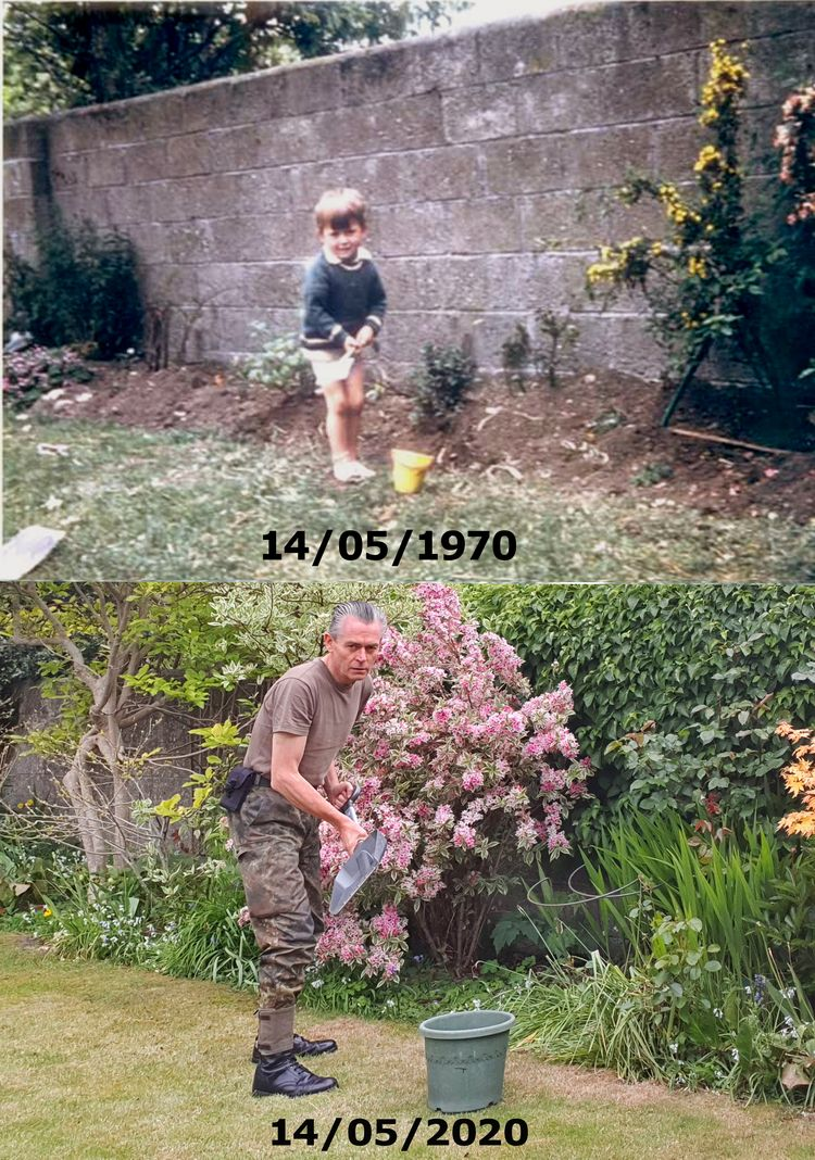 Parents garden . 50 years day.  - marcredmond | ello
