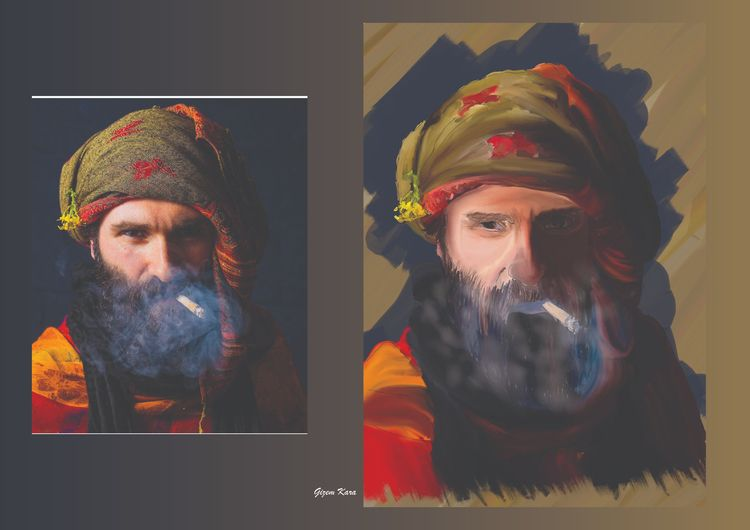 Portrait İllıustration - gizemkara | ello