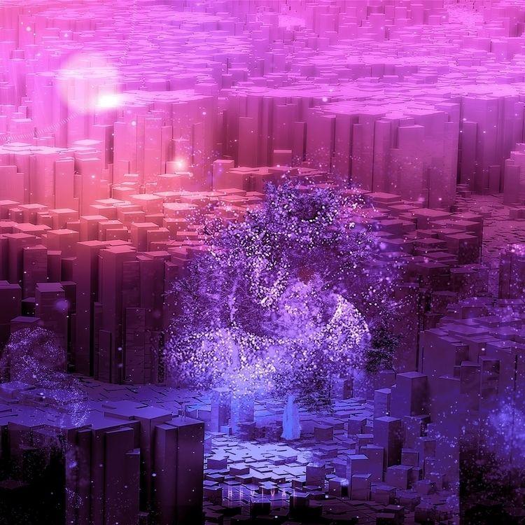 REVIVAL. Digital art. CGI Insta - archiefox   ello