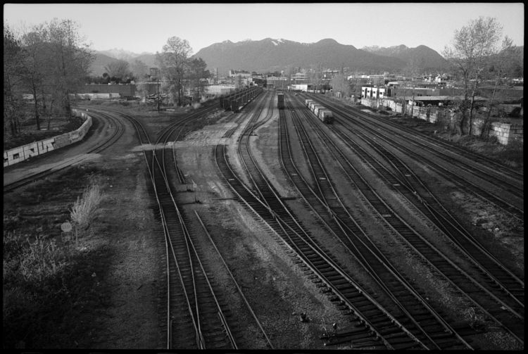 Rail yard golden hour - minoltacle - kch | ello