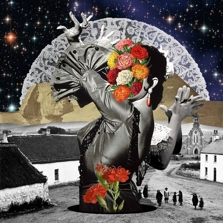 Collage tribute Lola Flores - collage - vypunto | ello