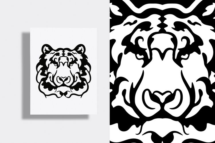 Tiger Packaging - Coming - illustration - justblack | ello