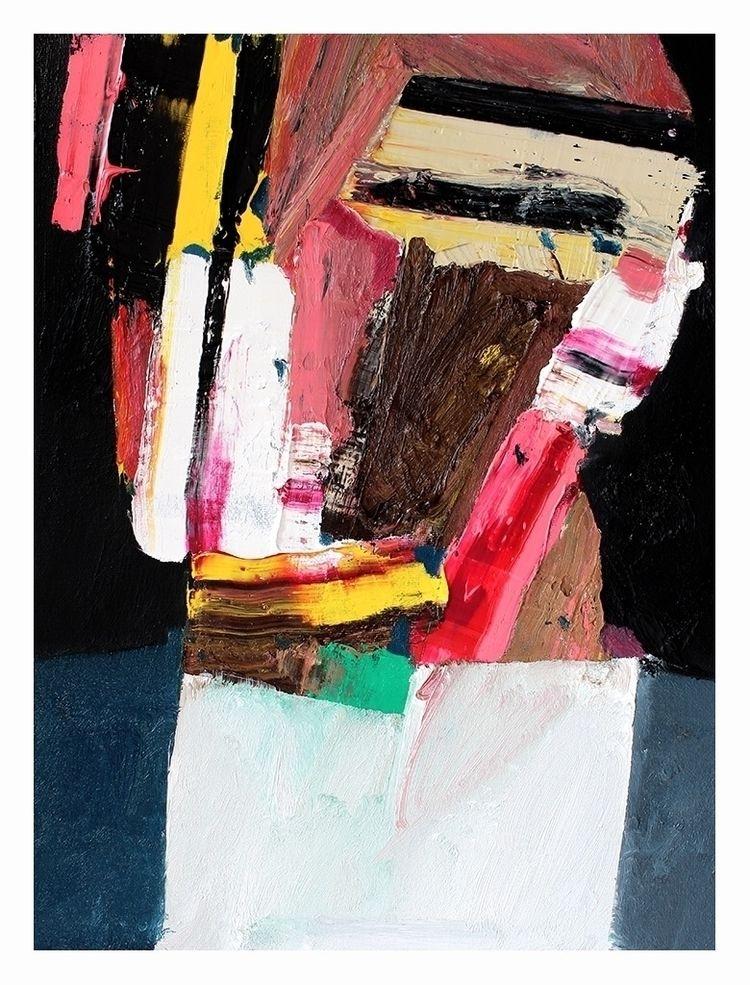 Head 5 (2nd series). Oil canvas - carpmatthew   ello