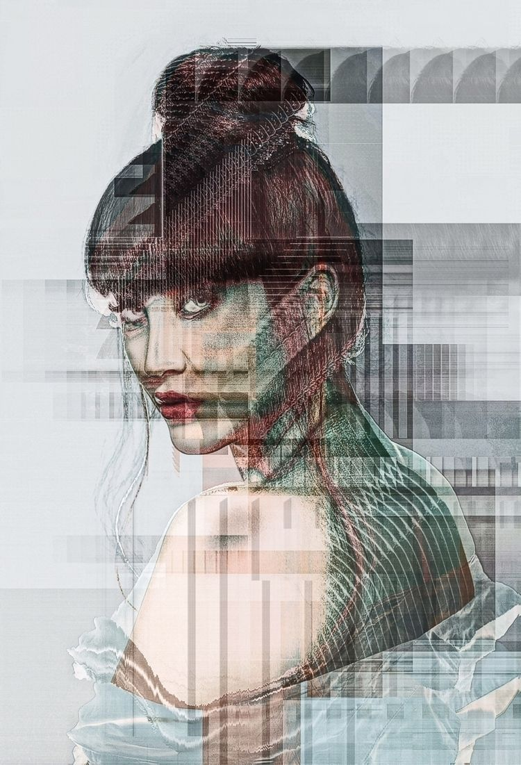 ▞ shifted  - digitalart, art, elloart - ikatch | ello