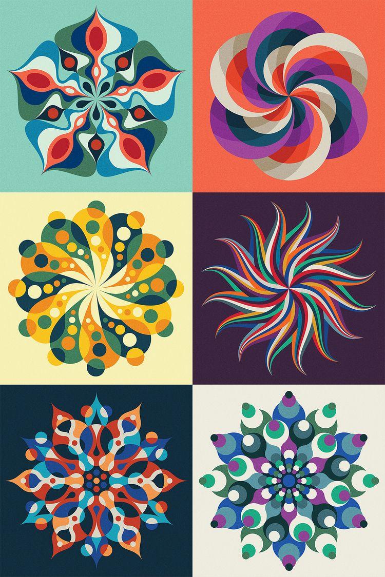 Spring Flowers - 2O2OVlSlONS - mwm_graphics | ello
