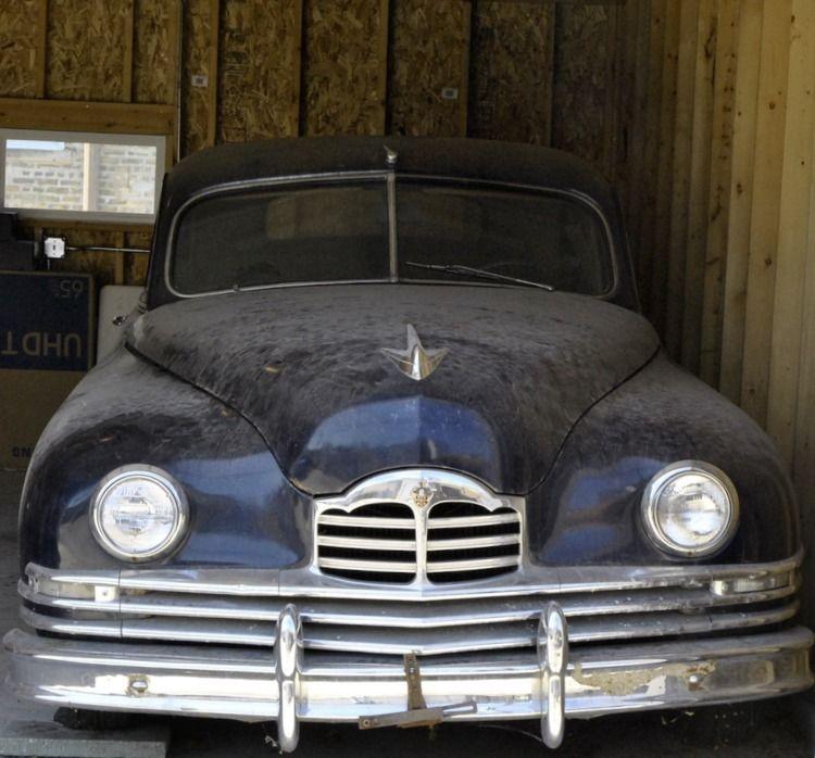 Ancient Packard garage - photostatguy   ello