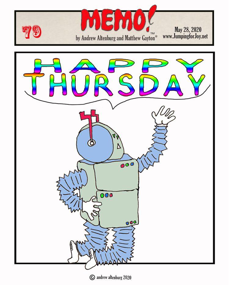 J4J, Thursday, 28, 2020: MEMO 7 - andrewaltenburg | ello