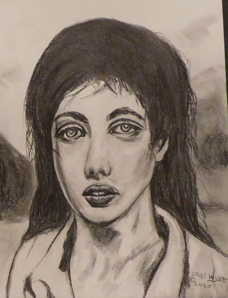 Sophia Giollepsi Spyro, pencil  - chaswyatt | ello