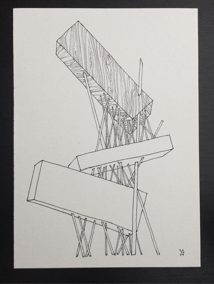 Composition Original piece Pen  - ricardo_acosta   ello