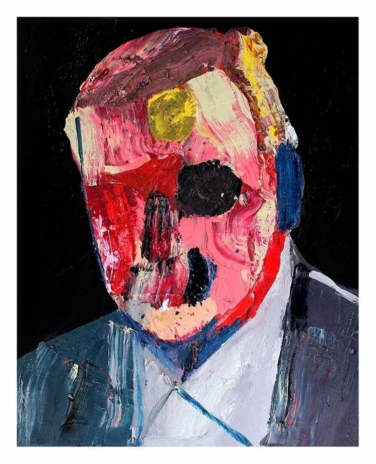 Head 8 (2nd series). Oil canvas - carpmatthew   ello