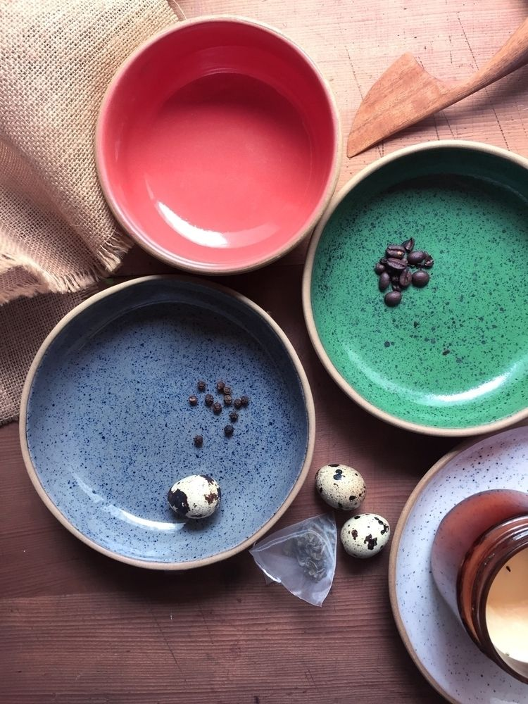 Small, big shallow bowls butter - pritpalbharaj | ello