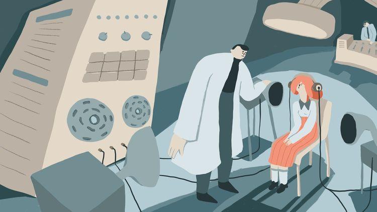 Retro experiment - illustration - jandastudio | ello