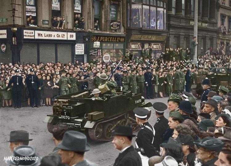 Colourising History - Irish Arm - marcredmond | ello