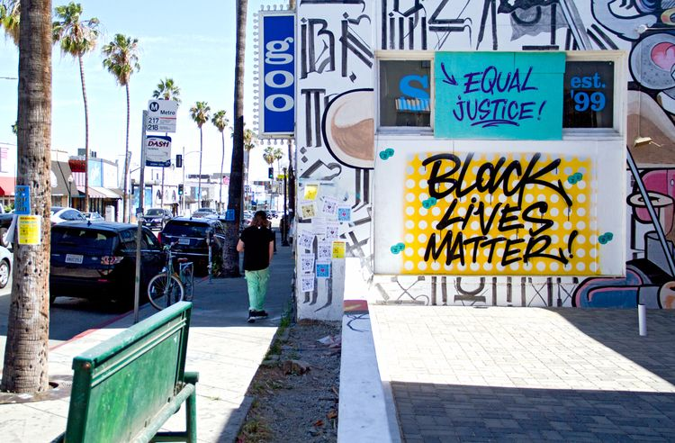 Movement Fairfax ave LA - blacklivesmatter - theartofchase | ello