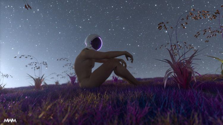 love light shows darkness stars - midwest_misfit | ello