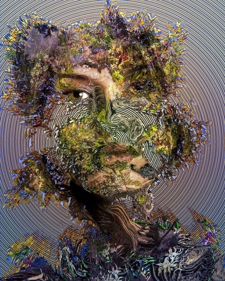 ❧ Treetment  - digitalart, art, portrait - ikatch | ello