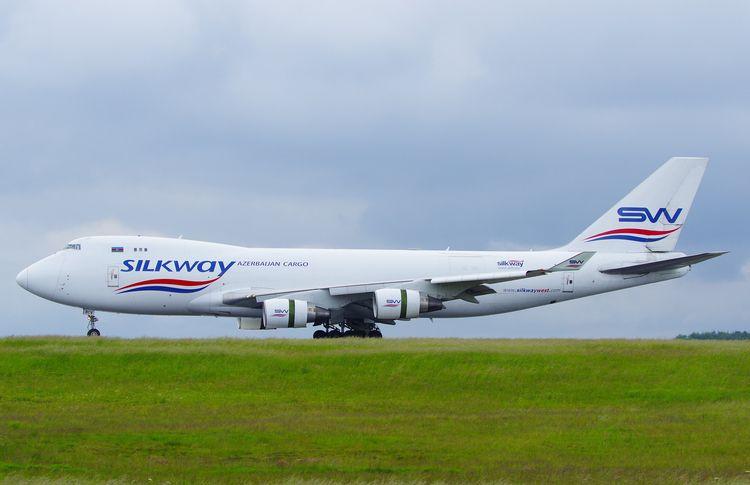 Silkway West Airlines Boeing 74 - brummi   ello