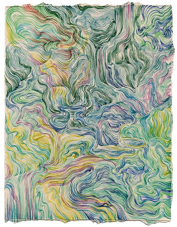 Rip XI Watercolor paper, 7x9″ 2 - jacobvanloon   ello