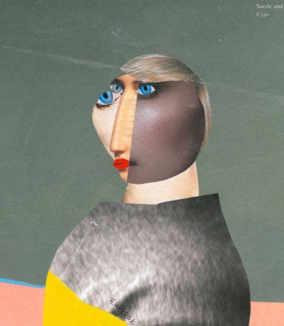 Irina Kazan. handmade collage,  - ewalook   ello